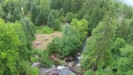 Drone Captures Extraordinary Views of Waterfall in Quebec