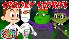 Spooky Stories - A Spooky Stupendous Drew Pendous Story - Cool School - Cartoons for Kids