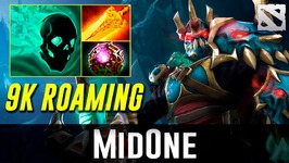 MidOne Wraith King 9k Roaming Dota 2