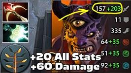 SingSing Lion CARRY  20 Stats  60 Damage Dota 2