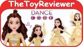 Dance Code Belle Doll Disney Princess Coding App Beauty Beast Unboxing Toy Review