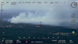 Aerial Footage Shows Bushfire in Northern New South Wales