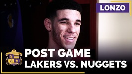 Lonzo Ball After Second Triple-Double, 16 Rebounds