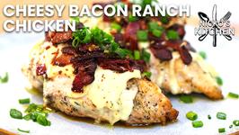 Cheesy Bacon Ranch Chicken / Low Carb Keto Recipe