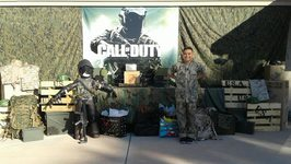 CALL OF DUTY PARTY!! (Damian's 9th birthday)