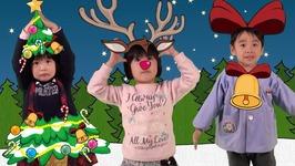 Christmas Tree Reindeer Bell - Christmas Song for Kids