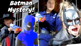 Batman Mystery - Detective Donut Solves The Batman Mystery - Hope and Noah