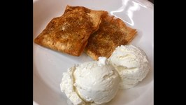 Low Carb Fried Apple Pie