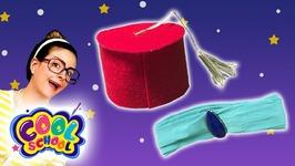 DIY Aladdin Hat and Jasmine Headband - Disney's Aladdin Kids Craft - Arts and Crafts with Crafty Carol
