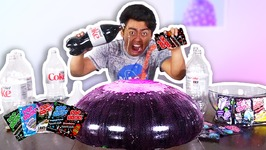 WUBBLE BUBBLE DIET COKE POP ROCKS EXPERIMENT