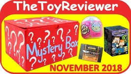 November 2018 Mystery Box Blind Bag Surprise Boy Girl Driven Unboxing Toy Review
