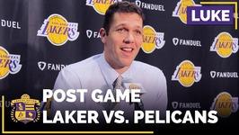 Luke Walton On Metta World Peace, After Last Game At Staples Center