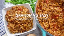 Grandma's Easy Goulash