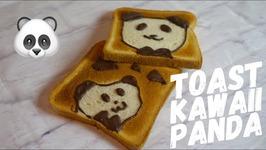 Recette Toast Kawaii Panda Chocolat Facile Et Rapide