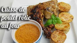 Cuisses De Poulet Rôties Au Four (Marinade Africaine)