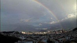 Spectacular Timelapse Video Shows Rainbow Forming Over Monterrey