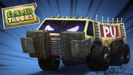 CryptoTrucks Videos - Promo Video - Trucks Cartoons - CryptoForce - Carnage Crew - Monster Trucks