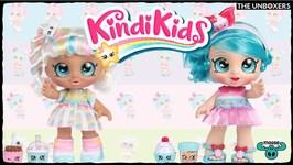 Kindi Kids Jessicake & Marsha Mello Dolls