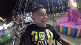 YOYO RIDE at the FAIR - Dominick gets a Chicken - Damian and Deion