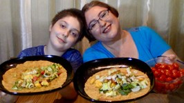 Lime, Garlic, BBQ Chicken Wrap -Gay Family Mukbang - Eating Show