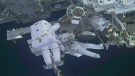 Astronauts Replace Robotic Hand on Canadarm2
