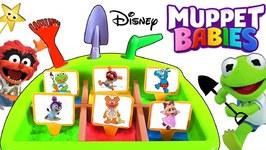 Muppet Babies MAGIC GARDEN GAME Grow Fruits & Vegetables  WIN SURPRISE TOYS!