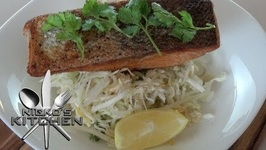 Salmon With Clean Asian Slaw