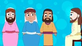 Episode-70-Jesus is Anointed- Bible Stories for Kids