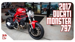 2017 Ducati Monster 797 - First Ride
