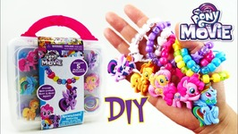My Little Pony Movie 2017 Bead Necklace Activity With Twilight Rainbow Dash Fluttershy Applejack