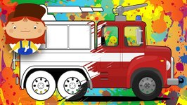 Colors with Doctor McWheelie-Fire truck