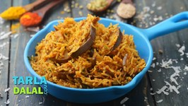 Vangi Bhath, Maharashtrian Rice with Baingan