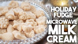 Microwave Milk Cream - Instant Fudge