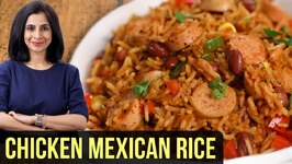 Mexican Chicken Rice Recipe  How To Make Mexican Rice  Arroz Con Pollo  One Pot Meal By Tarika
