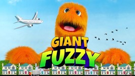 Giant Fuzzy Puppet !