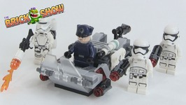 Lego Star Wars First Order Transport Speeder Battle Pack Review Set 75166