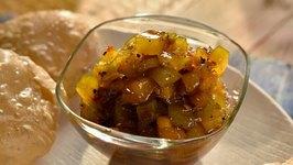 Quick Mango Chutney / Mango Season Special
