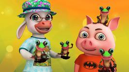 Five Little Speckled Frogs- Popular Nursery Rhymes for Children