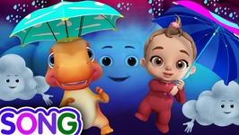 Rain Rain Go Away -Baby Songs and Dinosaur Rhymes for Kids - Funzone 3D Nursery Rhymes