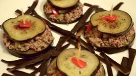 Hamburger D'aubergines : Recette Facile À Faire