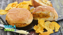 Tava Cheese Burger-Quick Snack