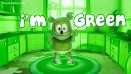 I'm GREEN Song - Gummibär The Gummy Bear - Gummy Bear Song - I'm Blue