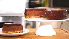 Triple Chocolate Mousse Cake / Layered Chocolate Heaven
