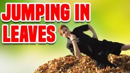 Jumping in Leaves - Funny Fall Compilation