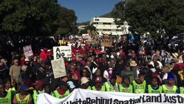 Anti-Zuma Protesters March on National Assembly Ahead of No-Confidence Vote