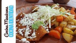 Cómo hacer Enchiladas Placeras. Yuri de Gortari