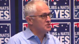 Prime Minister Launches Coalition for Yes Campaign