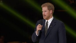 UK's Prince Harry Says Invictus Games About Duty, Service, and Not Letting Injuries Define Participants