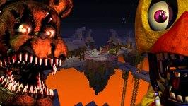 Minecraft Xbox - Five Nights At Freddy's - Sky Island