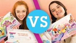 Alyssa VS Juliet - Powerpuff Girls Storymaker System Showdown